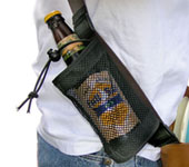 Bottle Holster (Bottle Holster, Sturdy Canvas and Mesh)