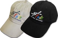 Baseball Cap (Adjustable) (Baseball Hat, Fade Gear Logo)