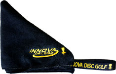 Embroidered FlyDry Disc Golf Towel (Disc Golf Towel, Innova Logo)