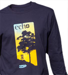 Organic T-Shirt (Long Sleeve) (Organic T-Shirt (Long Sleeve), Innova Echo Logo)