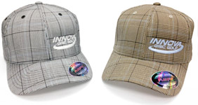 Plaid Baseball Cap (Baseball Cap (A-Flex fit), Innova Logo)