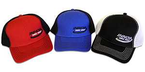 Stretch Mesh Baseball Cap (Stretch Mesh Baseball Cap, Innova Logo)