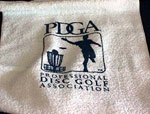Golf Towel with clip (Golf Towel, PDGA Logo)