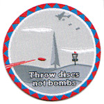 Discs not bombs (Patch, -)